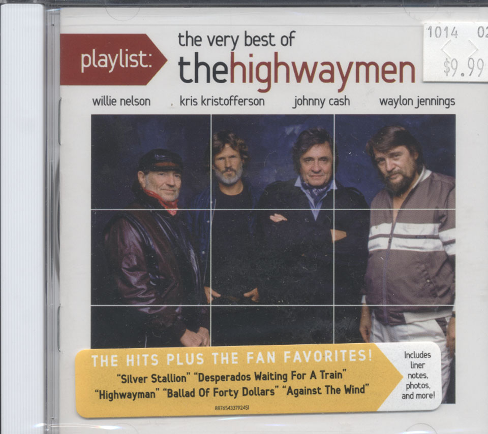 Willie Nelson / Kris Kristofferson / Johnny Cash / Waylon Jennings CD