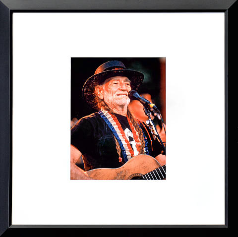 Willie Nelson Framed Fine Art Print