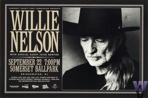 Willie Nelson Handbill