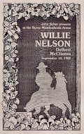 Willie Nelson Program