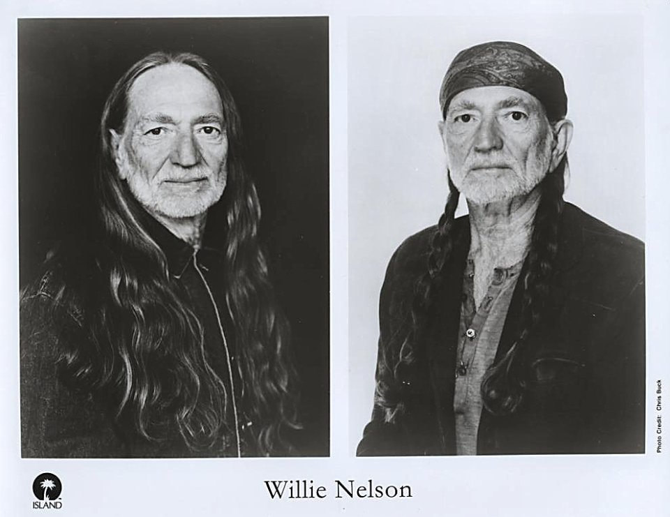 Willie Nelson Promo Print