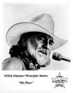 Willie Nelson Promo Print