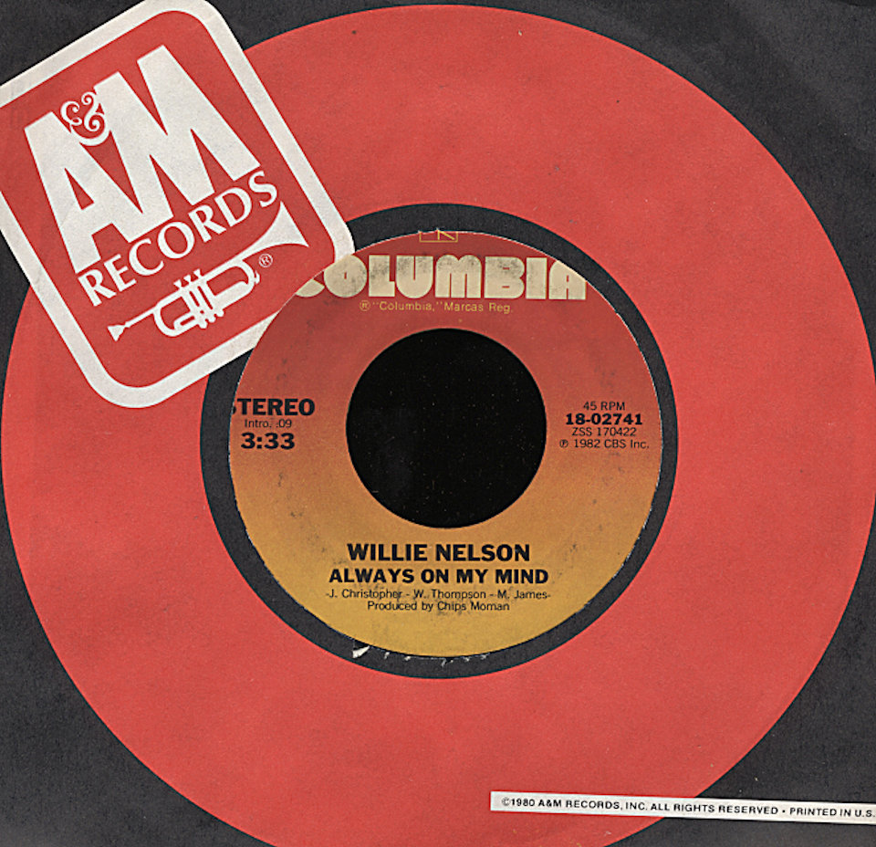 "Willie Nelson Vinyl 7"" (Used)"