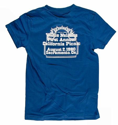 Willie Nelson Women's T-Shirt reverse side