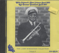 Willie Pajeaud's New Orleans Band & Kid Thomas' Dixieland Band CD