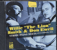 "Willie ""The Lion"" Smith & Don Ewell CD"