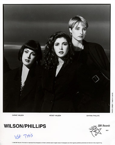 Wilson Phillips Promo Print