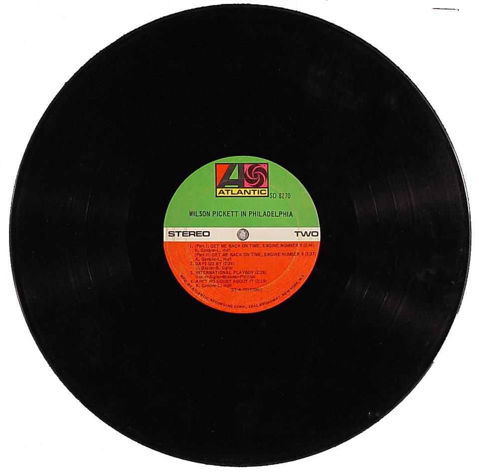 """Wilson Pickett Vinyl 12"""" (Used)"""