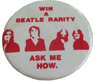 Win A Beatle Rarity Pin