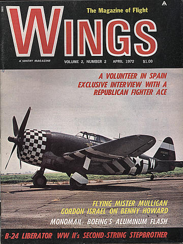Wings Apr 1,1972 Magazine