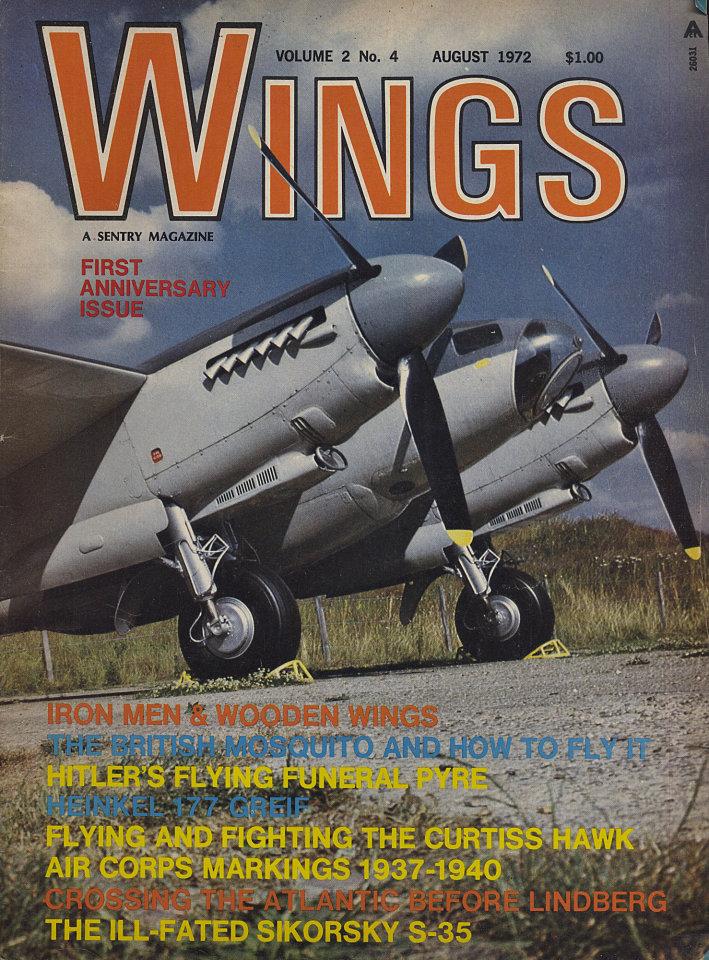 Wings Aug 1,1972