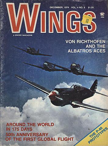 Wings Dec 1,1974 Magazine