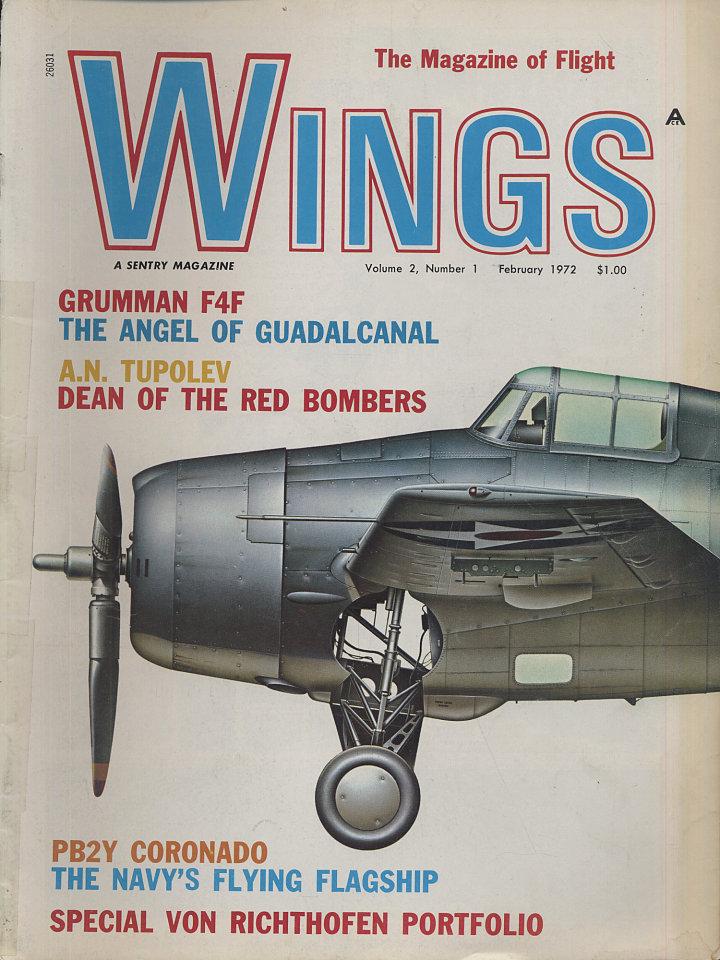 Wings Feb 1,1972