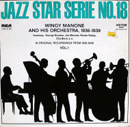 """Wingy Manone And His Orchestra Vinyl 12"""" (Used)"""
