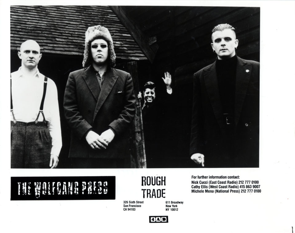 Wolfgang Press Promo Print
