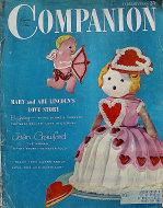 Woman's Home Companion Magazine February 1955 Magazine