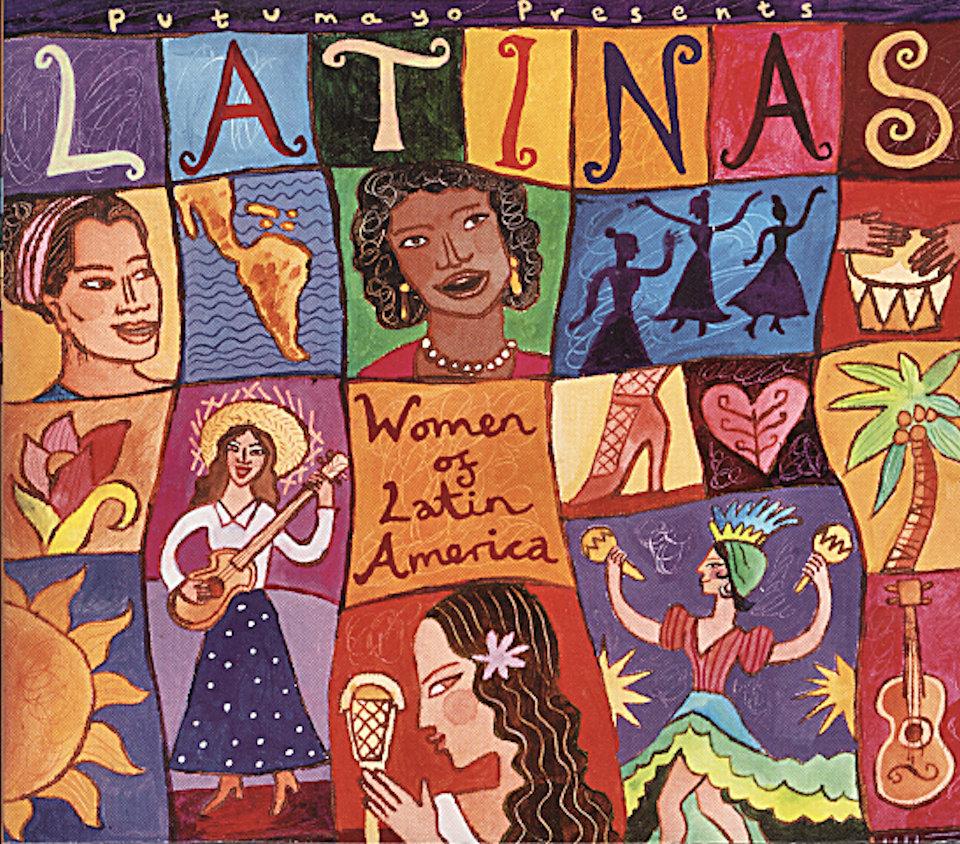 Women of Latin America CD