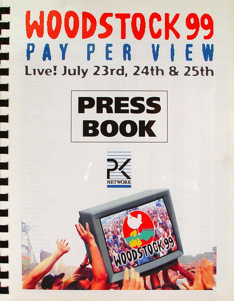 Woodstock 99 Press Book