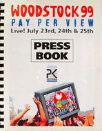 Woodstock 99 Press Book Book