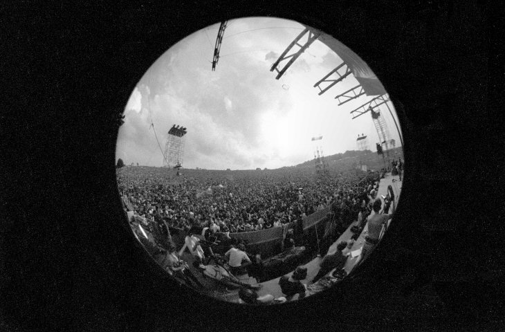 Woodstock Crowd Fine Art Print
