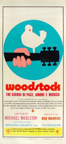 Woodstock Poster From Woodstock 1970 At Wolfgang S