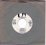 "Woody Allen Vinyl 7"" (Used)"