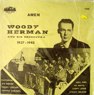 "Woody Herman & His Orchestra 1937-1942 Vinyl 12"" (New)"