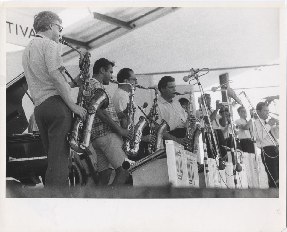 Woody Herman & His Orchestra Vintage Print