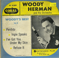 "Woody Herman & His Orchestra Vinyl 7"" (Used)"