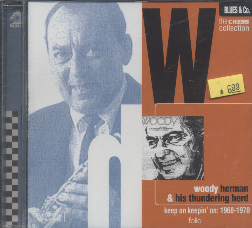 Woody Herman and His Thundering Herd CD