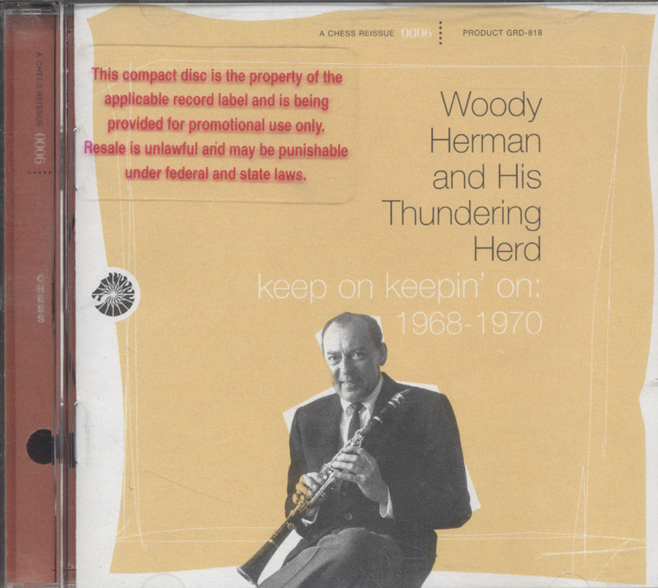 Woody Herman and His Thundering Herd CD