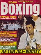 World Boxing Magazine May 1975 Magazine