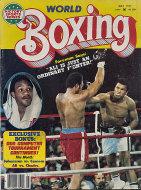 World Boxing Magazine May 1977 Magazine