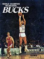 World Champion Milwaukee Bucks VS. Phoenix Suns Magazine