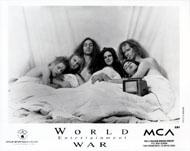 World Entertainment War Promo Print