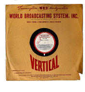"World Program Service: Disc 480 Vinyl 16"" (Used)"