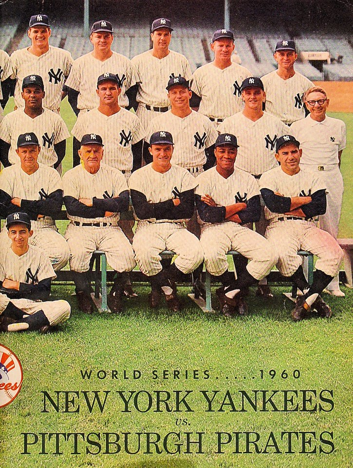 World Series 1960 Program