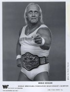 World Wrestling Federation Heavyweight Champion Promo Print