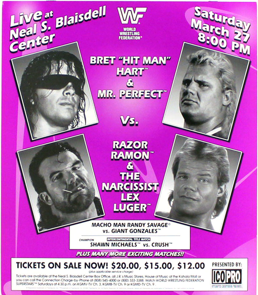 World Wrestling Federation Poster