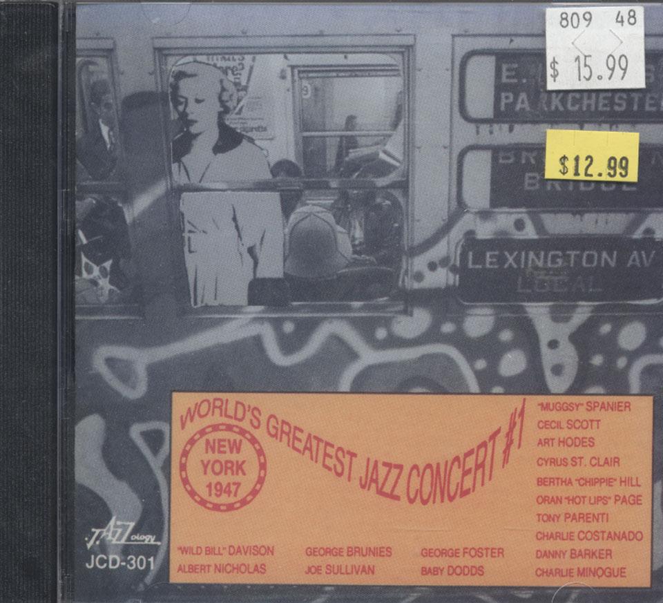 World's Greatest Jazz Concert #1 CD