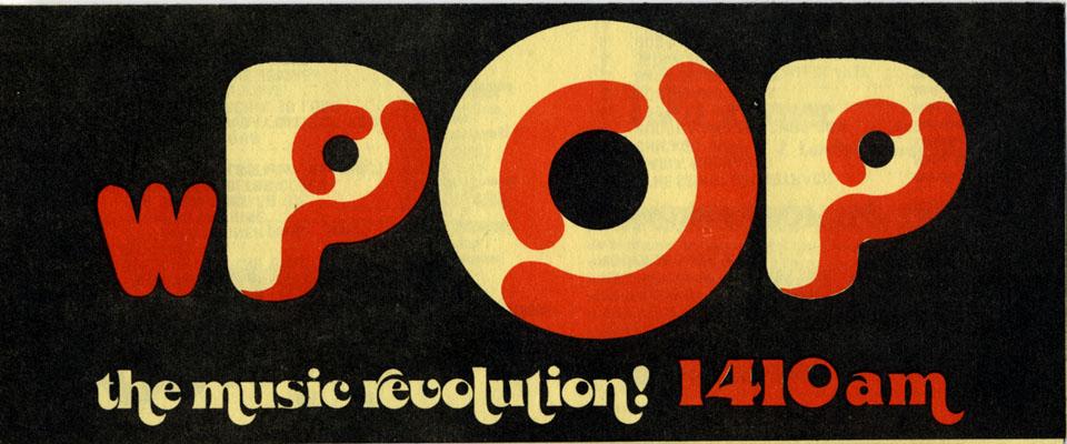 WPOP 1410 AM Handbill
