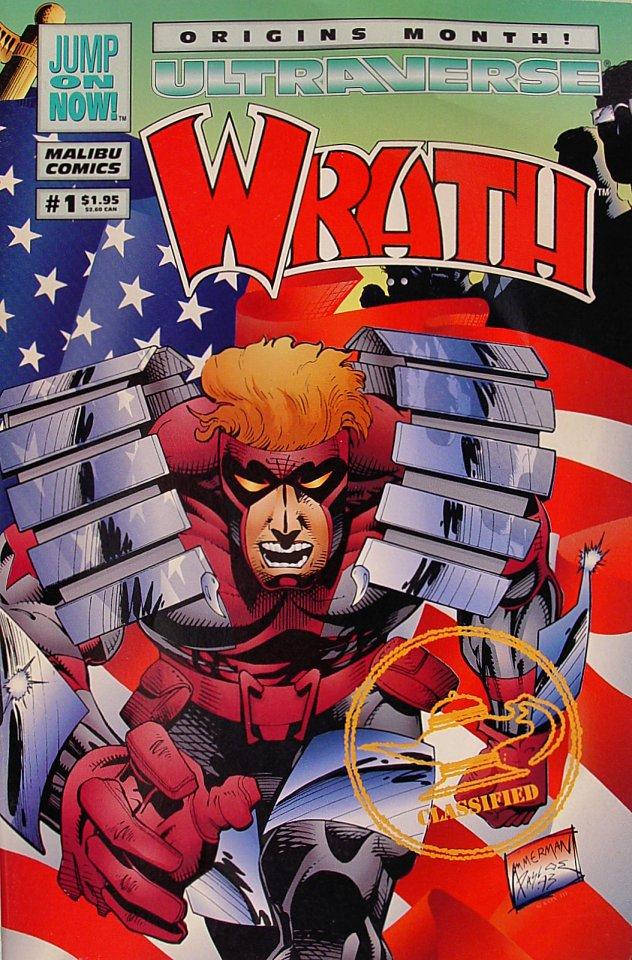 Wrath Comic Book