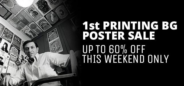 1st Printing BG Poster Sale