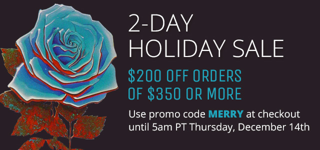 2-Day Holiday Sale
