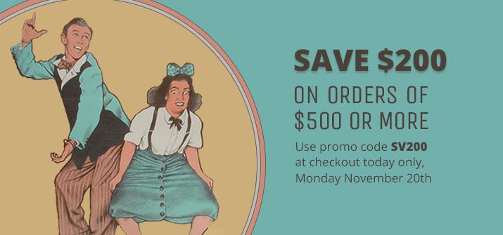 Save $200