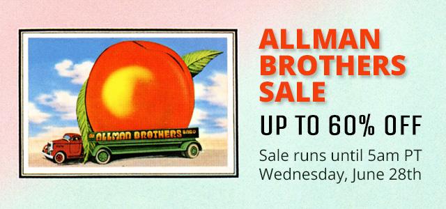 Allman Brothers Sale