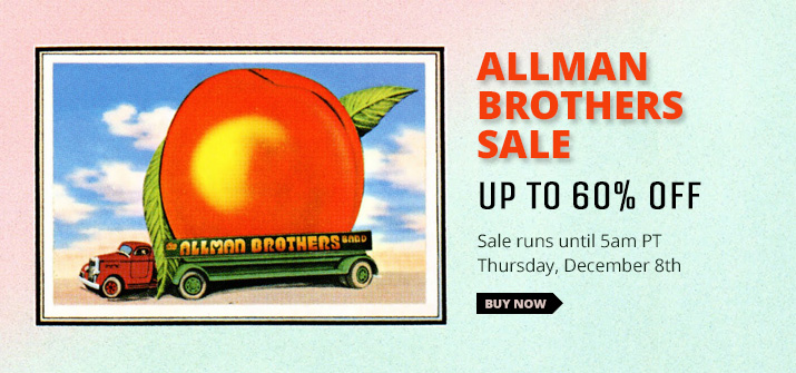 Allman Brothers Band Sale