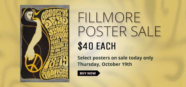 Fillmore Poster Sale
