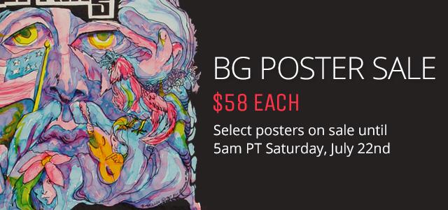 BG Poster Sale