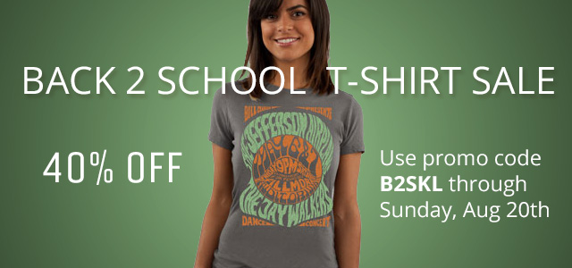 Back 2 School T-Shirt Sale